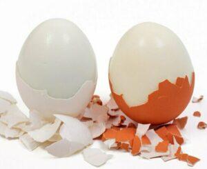 Sposób na obieranie jajek
